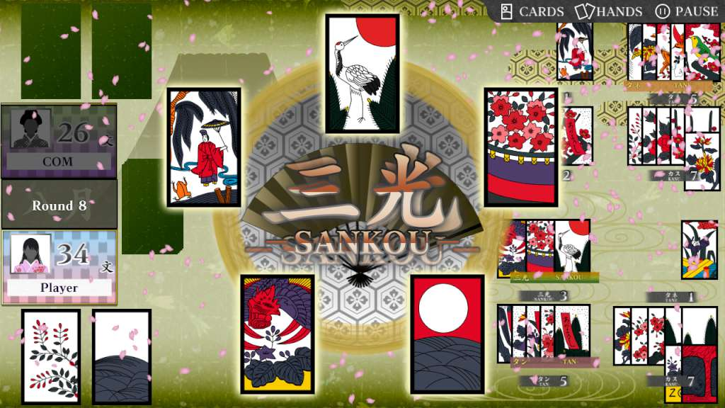 Images of Koi-Koi Japan [Hanafuda Playing Cards] | 1024x576