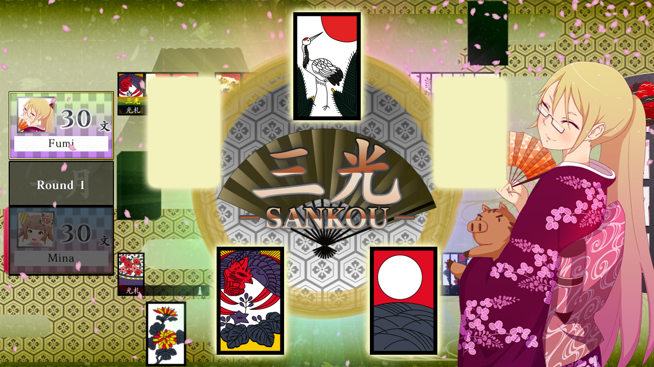 Koi-Koi Japan [Hanafuda Playing Cards] Backgrounds, Compatible - PC, Mobile, Gadgets| 1280x720 px