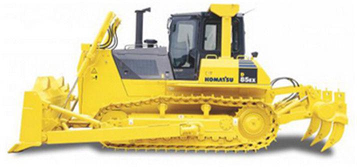 HD Quality Wallpaper | Collection: Vehicles, 714x334 Komatsu Bulldozer