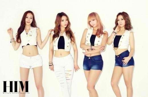 Korean Girl Group Backgrounds, Compatible - PC, Mobile, Gadgets| 520x340 px