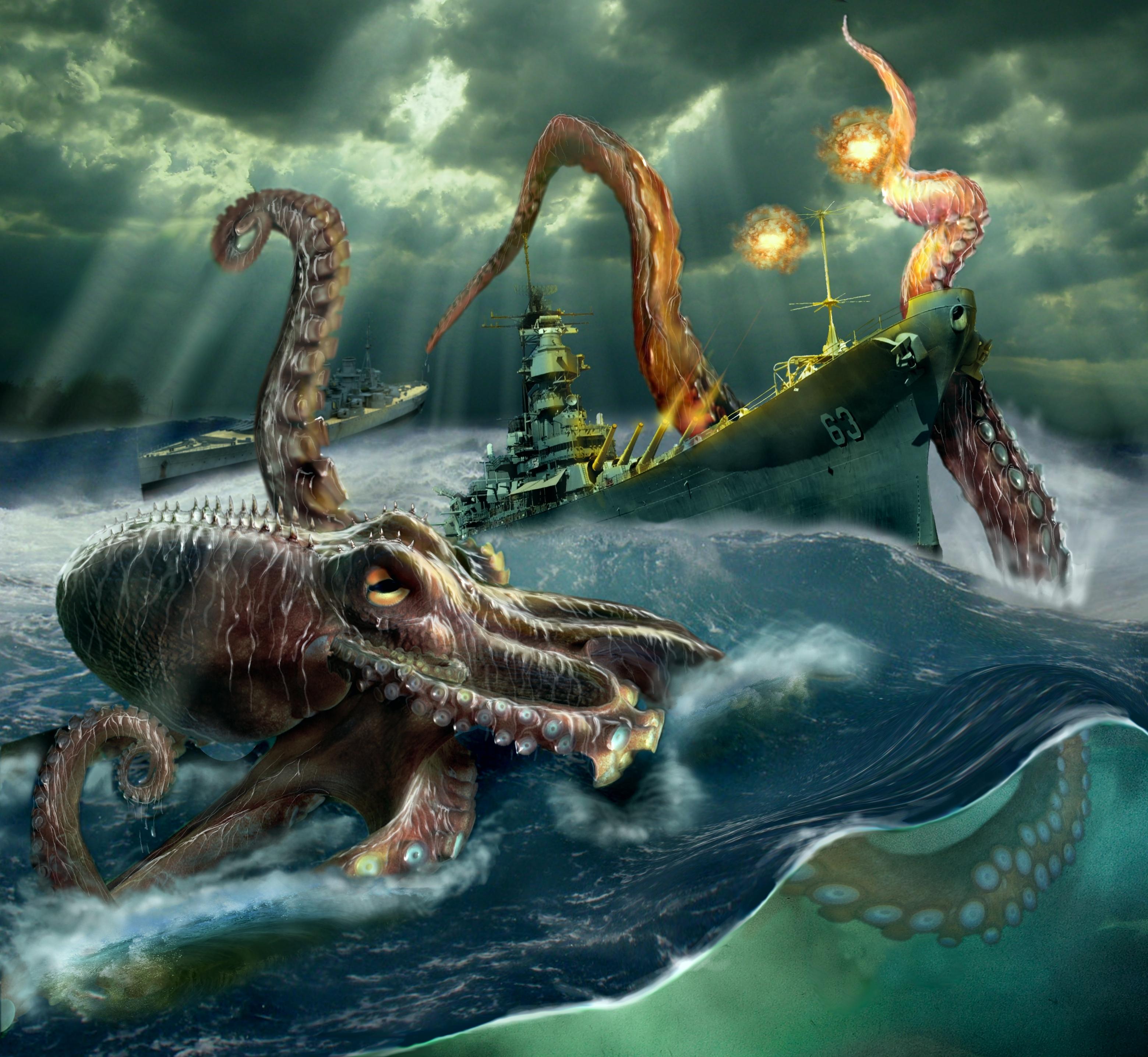 Amazing Kraken Pictures & Backgrounds
