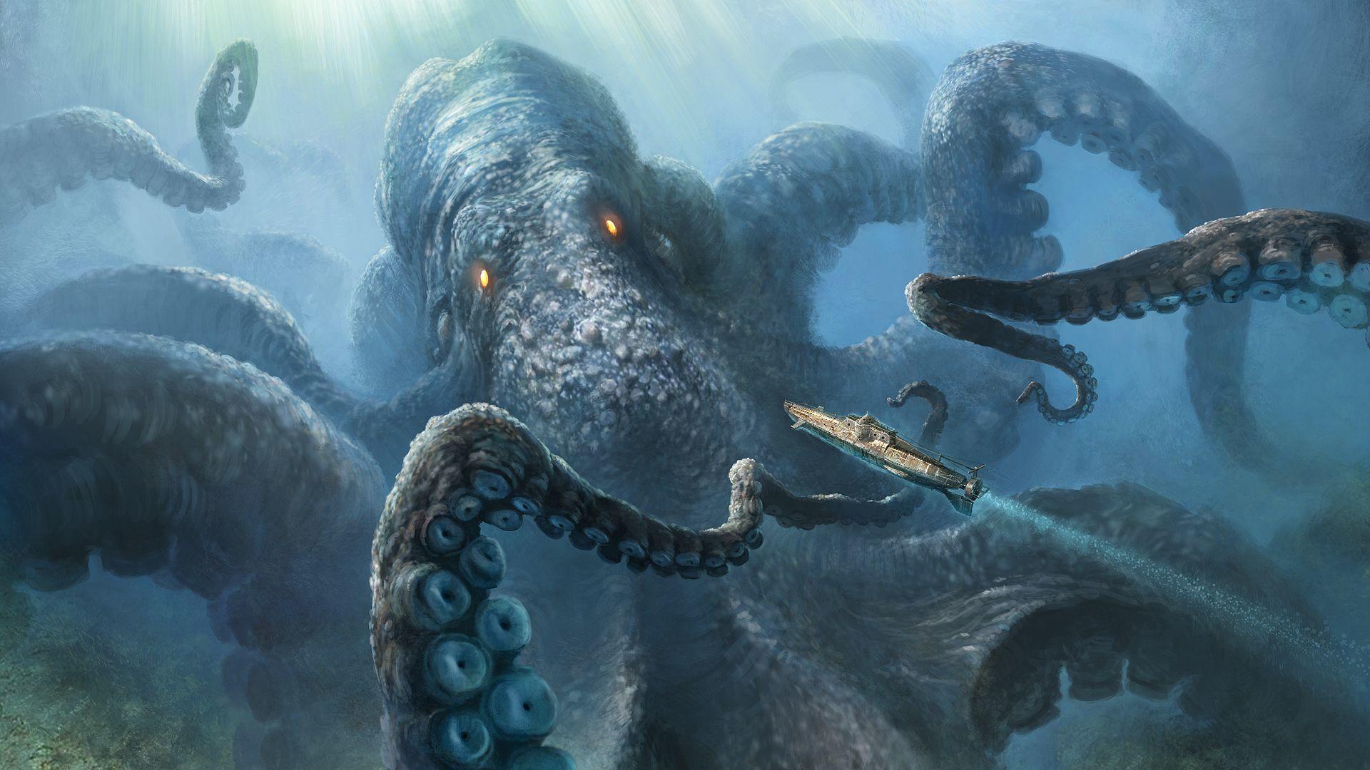 HQ Kraken Wallpapers | File 235.78Kb