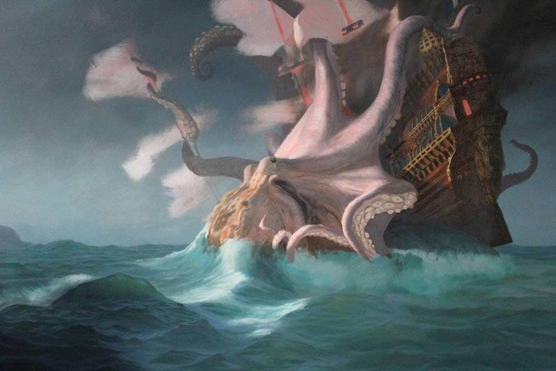 Nice Images Collection: Kraken Desktop Wallpapers