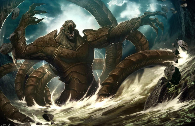 HQ Kraken Wallpapers | File 179.02Kb
