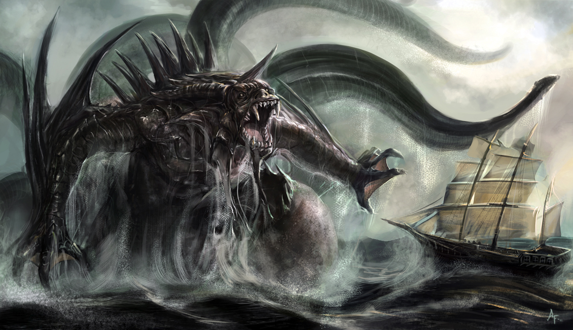 HQ Kraken Wallpapers | File 571.41Kb