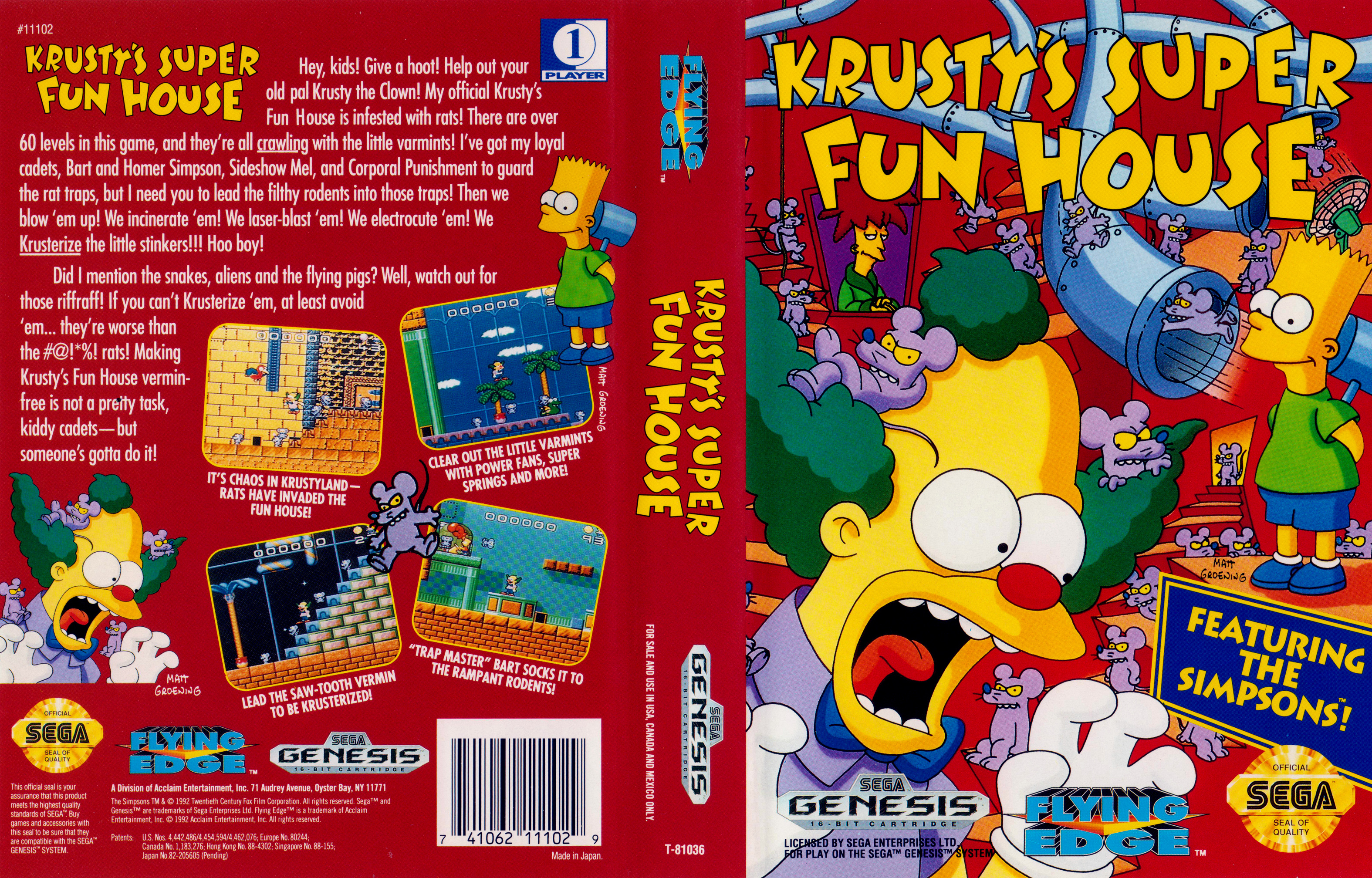 3150x2016 > Krusty's Fun House Wallpapers
