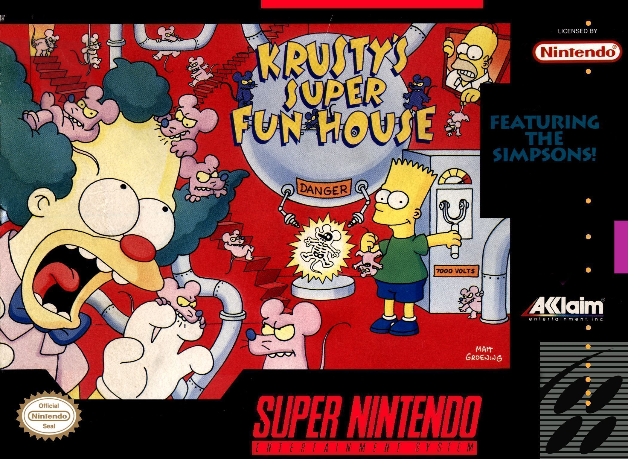Krusty's Fun House Backgrounds, Compatible - PC, Mobile, Gadgets| 2100x1534 px