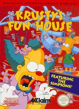 Krusty's Fun House High Quality Background on Wallpapers Vista