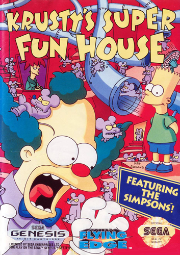Krusty's Fun House Backgrounds, Compatible - PC, Mobile, Gadgets| 353x500 px