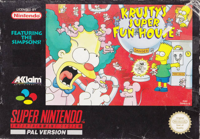 Amazing Krusty's Fun House Pictures & Backgrounds