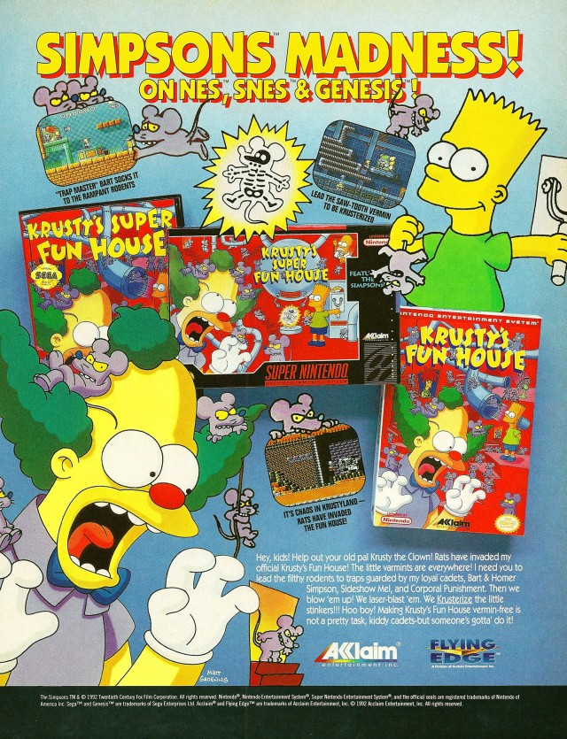 640x835 > Krusty's Fun House Wallpapers