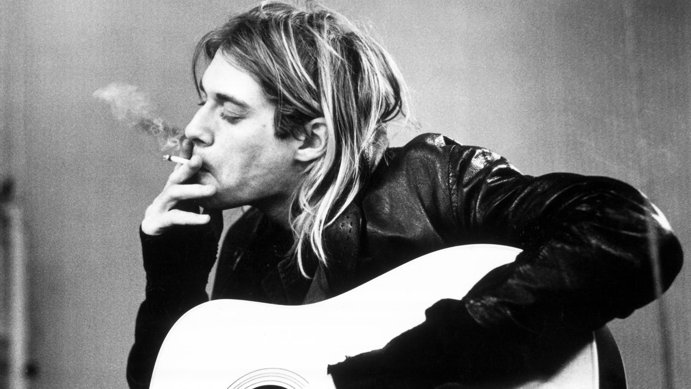 Nice wallpapers Kurt Cobain 1401x788px