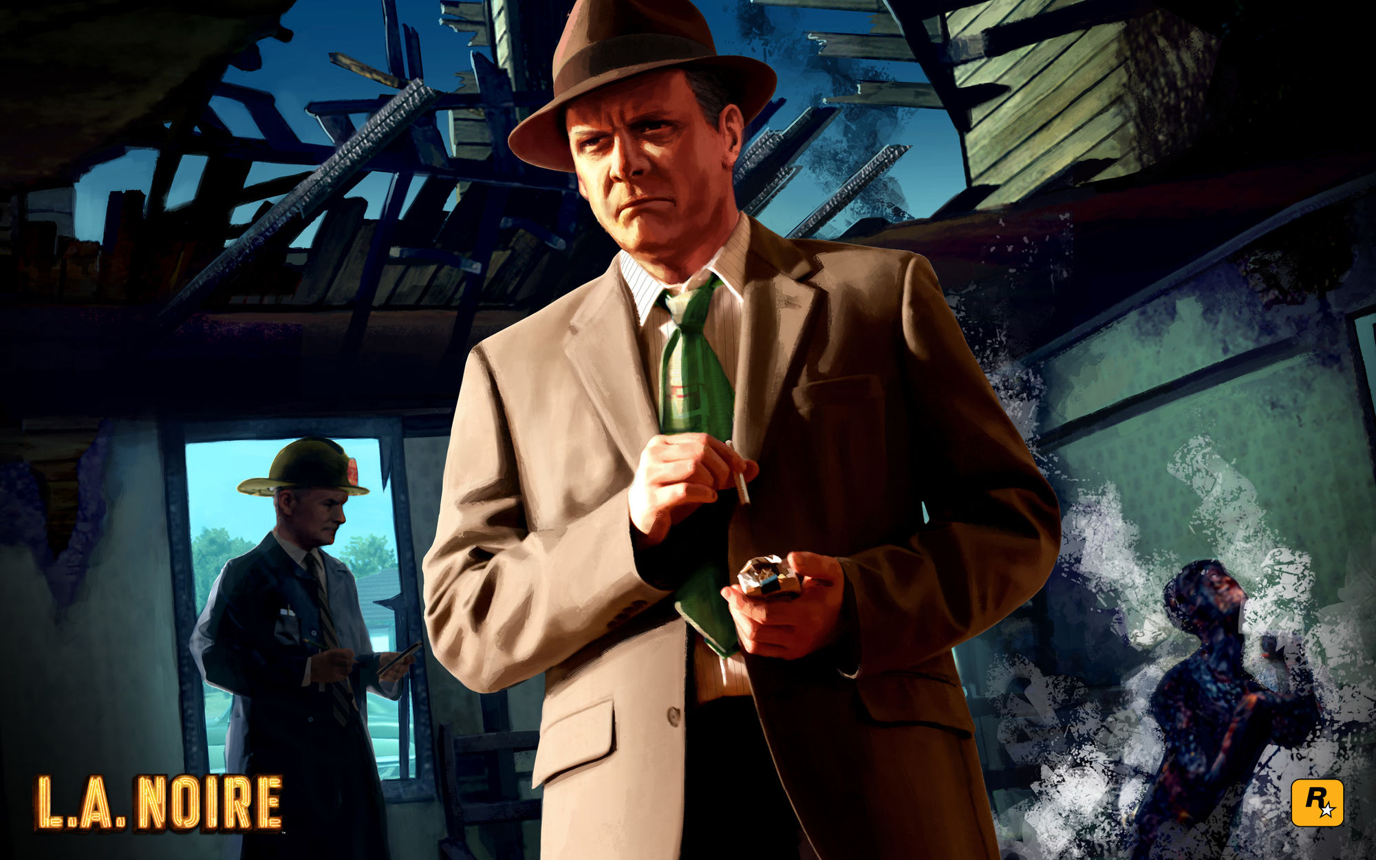 HD Quality Wallpaper | Collection: Video Game, 2000x1250 L.A. Noire