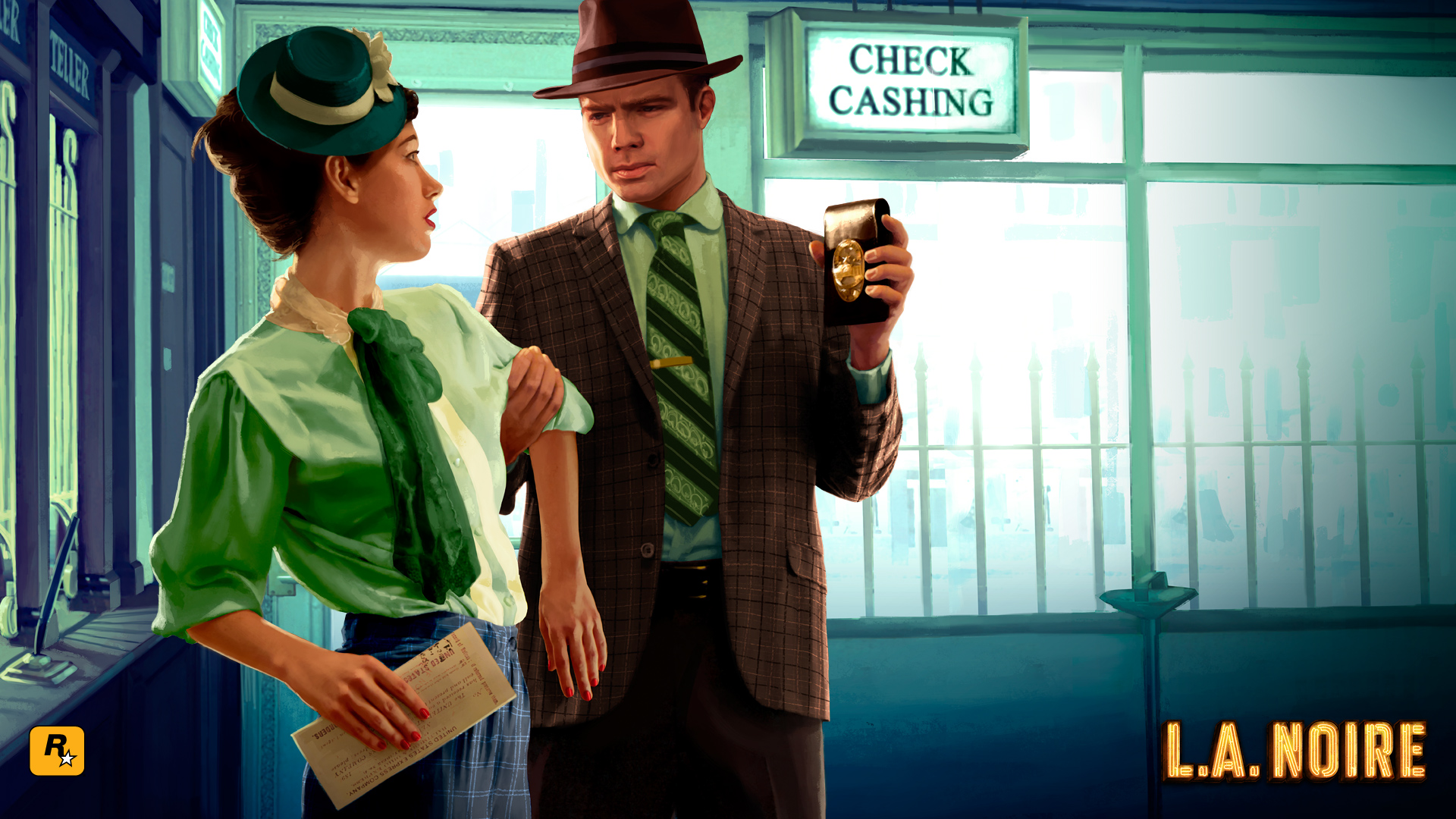 HD Quality Wallpaper | Collection: Video Game, 1920x1080 L.A. Noire