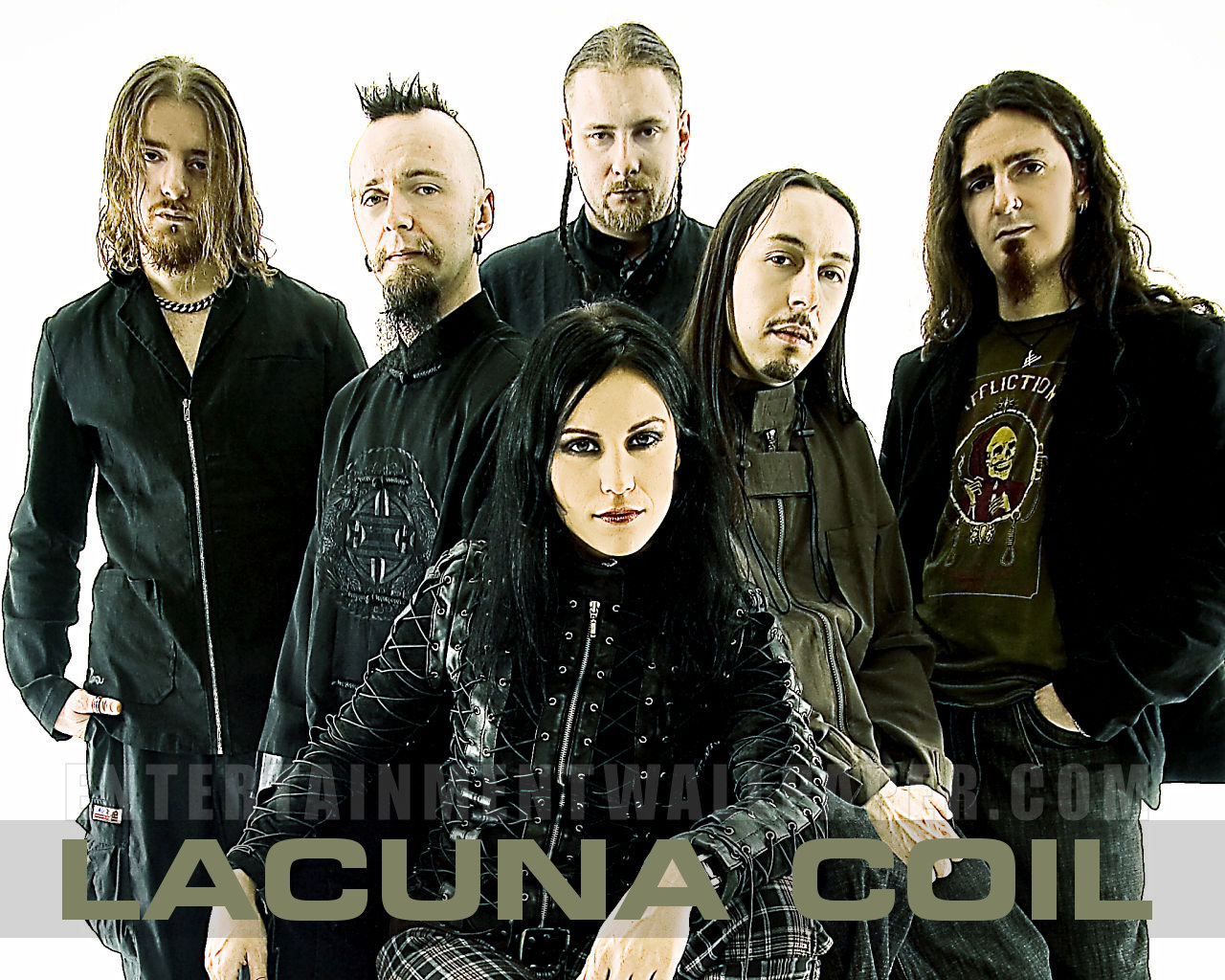Nice Images Collection: Lacuna Coil Desktop Wallpapers