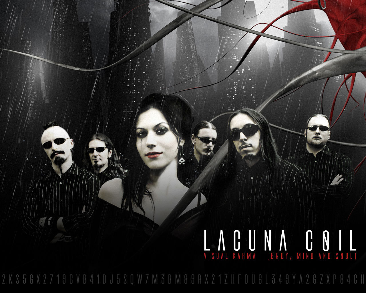 HD Quality Wallpaper | Collection: Music, 1280x1024 Lacuna Coil