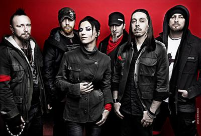 HD Quality Wallpaper | Collection: Music, 400x270 Lacuna Coil