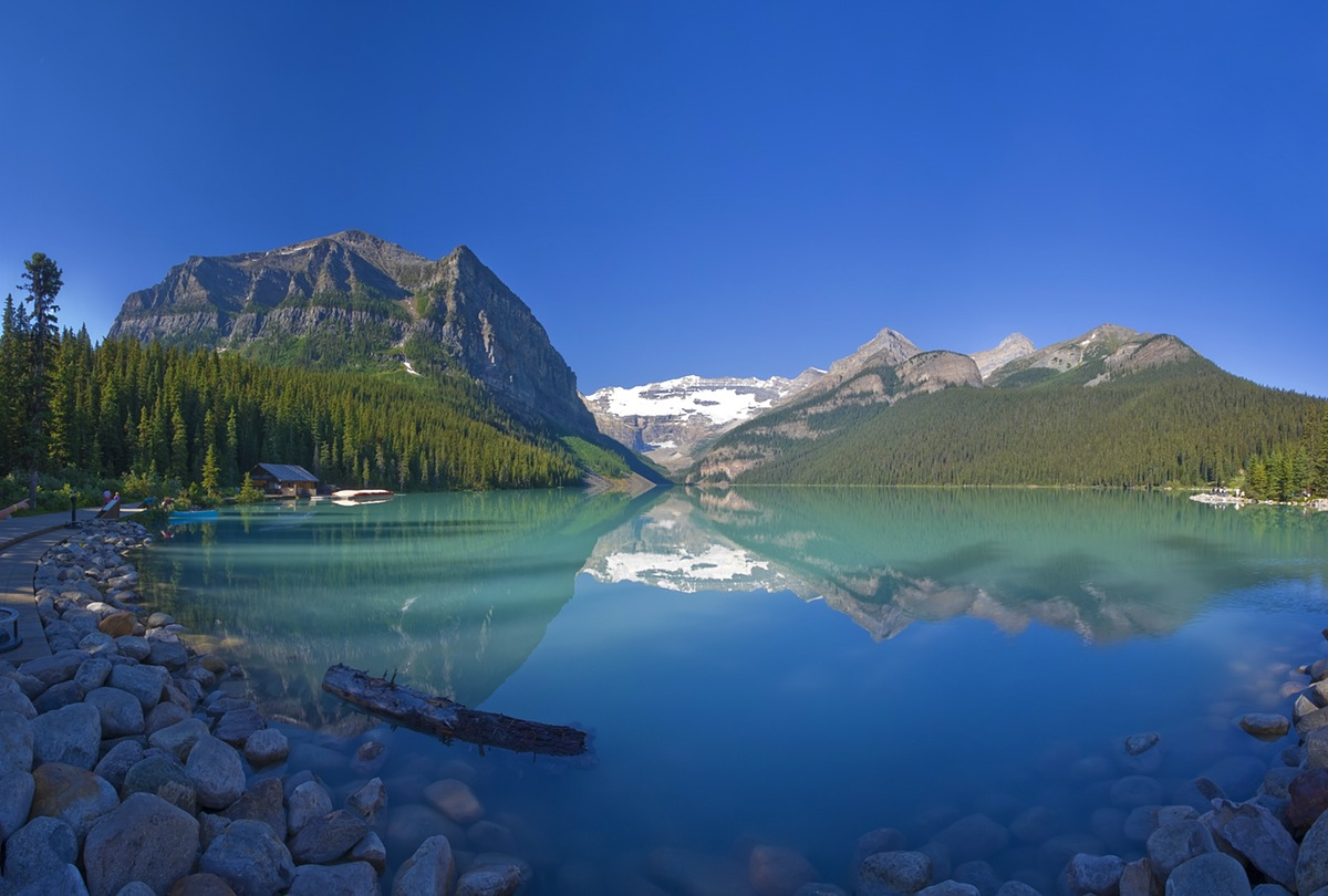 HD Quality Wallpaper | Collection: Earth, 1200x810 Lake Louise