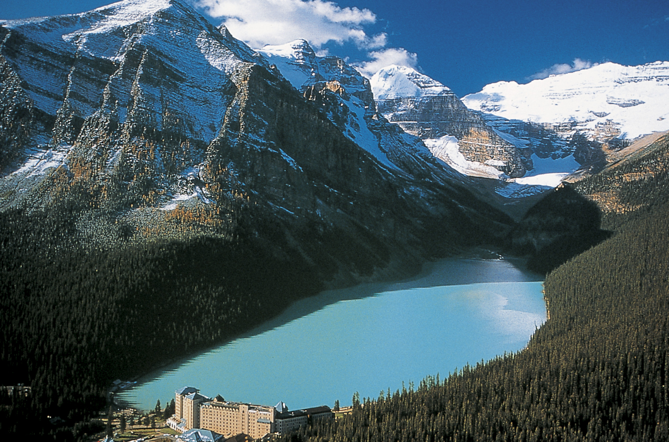 HD Quality Wallpaper | Collection: Earth, 2146x1419 Lake Louise