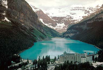 HD Quality Wallpaper | Collection: Earth, 360x243 Lake Louise