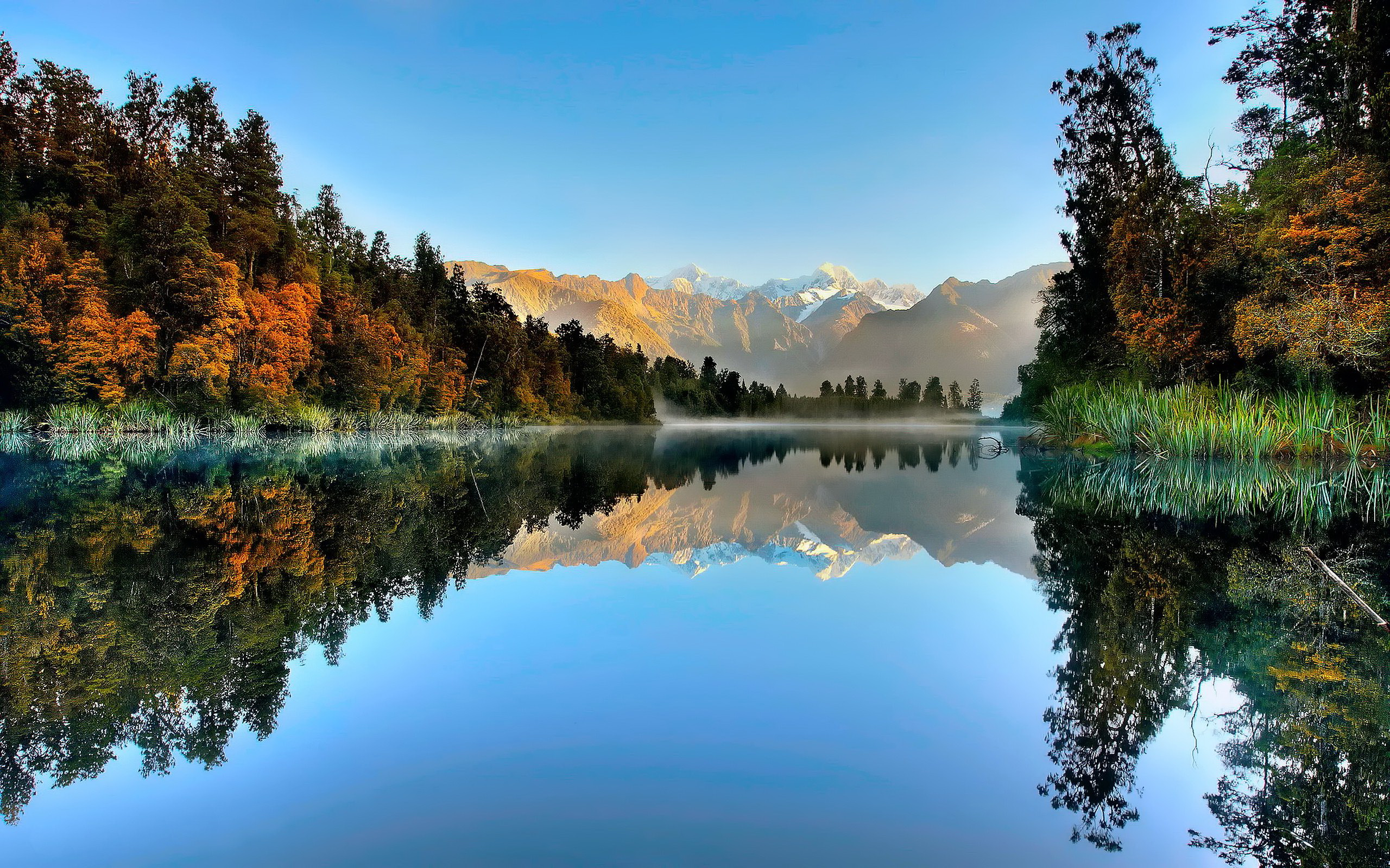2560x1600 > Lake Matheson Wallpapers