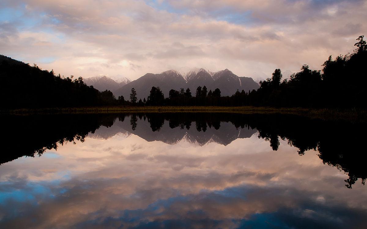 Images of Lake Matheson   1200x750