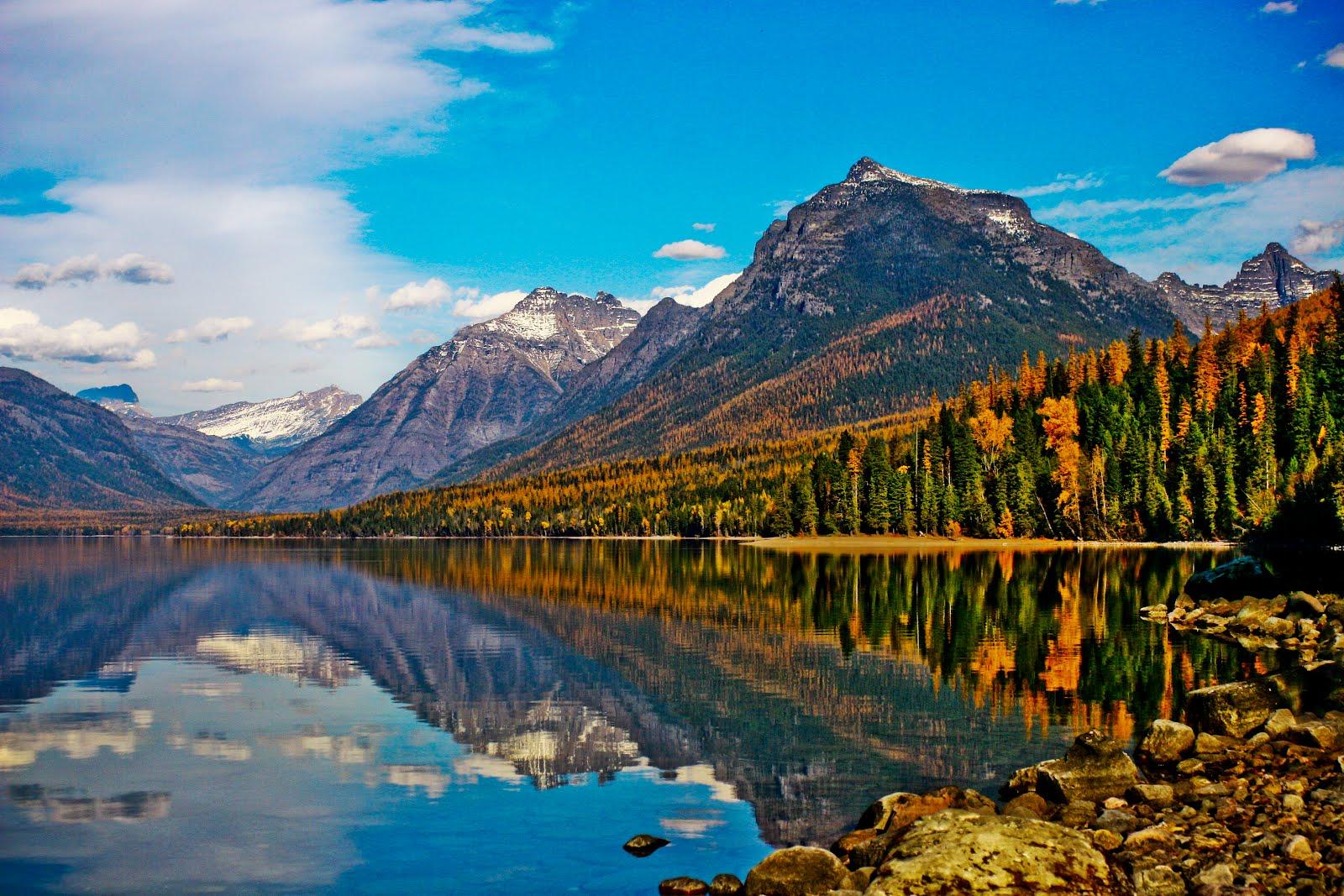 Lake McDonald Backgrounds, Compatible - PC, Mobile, Gadgets| 1600x1067 px