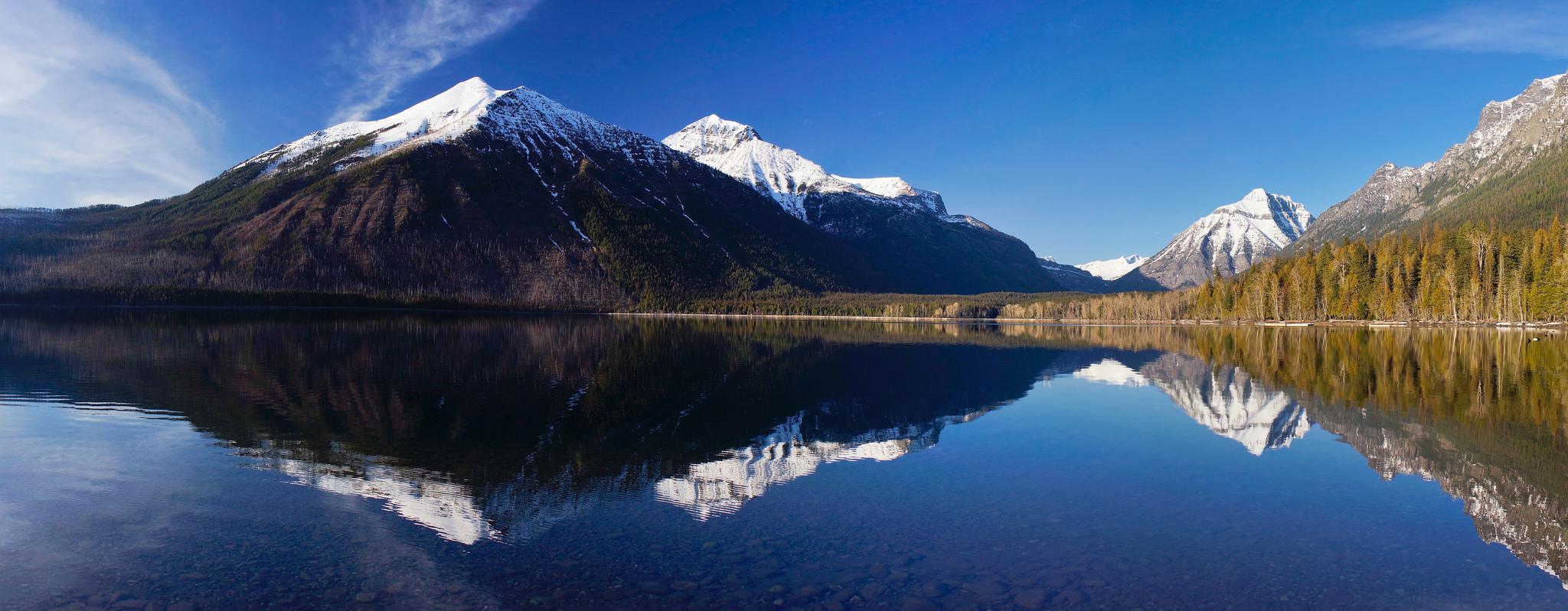Lake McDonald Backgrounds, Compatible - PC, Mobile, Gadgets| 2048x799 px