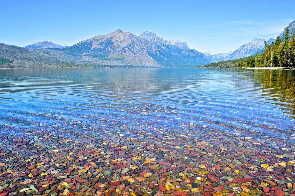 Lake McDonald Backgrounds, Compatible - PC, Mobile, Gadgets| 1000x665 px