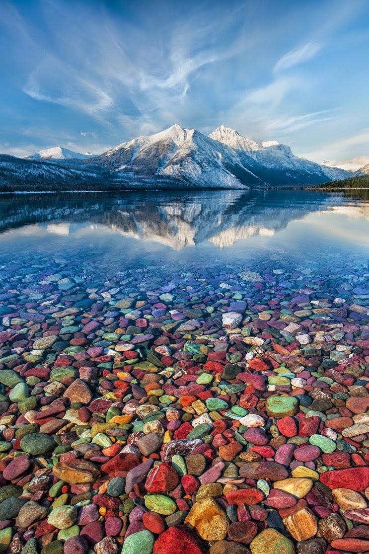 Nice wallpapers Lake McDonald 743x1115px