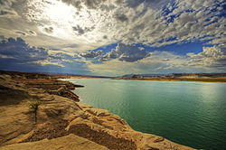 Nice Images Collection: Lake Powell Desktop Wallpapers