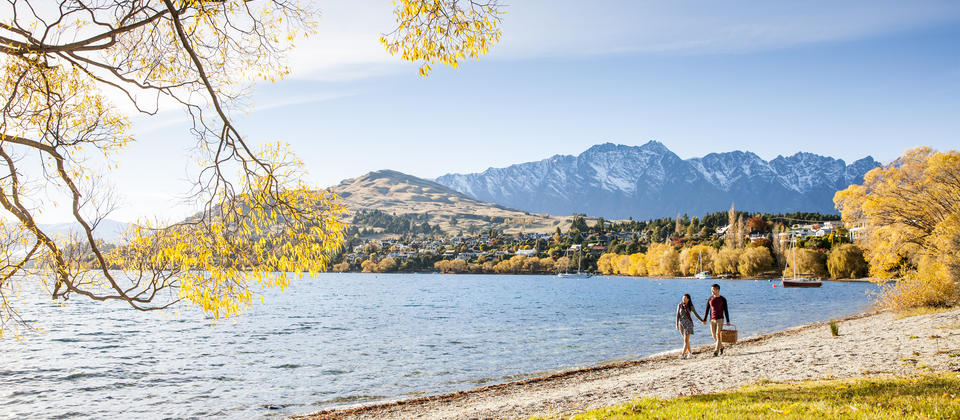 Lake Wakatipu Backgrounds, Compatible - PC, Mobile, Gadgets| 960x420 px