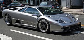 HD Quality Wallpaper | Collection: Vehicles, 328x157 Lamborghini Diablo