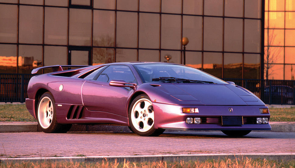 High Resolution Wallpaper | Lamborghini Diablo 969x554 px