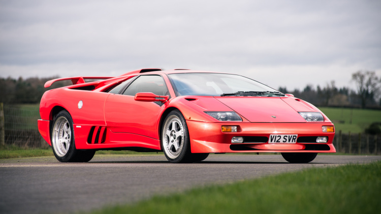 HD Quality Wallpaper | Collection: Vehicles, 750x422 Lamborghini Diablo