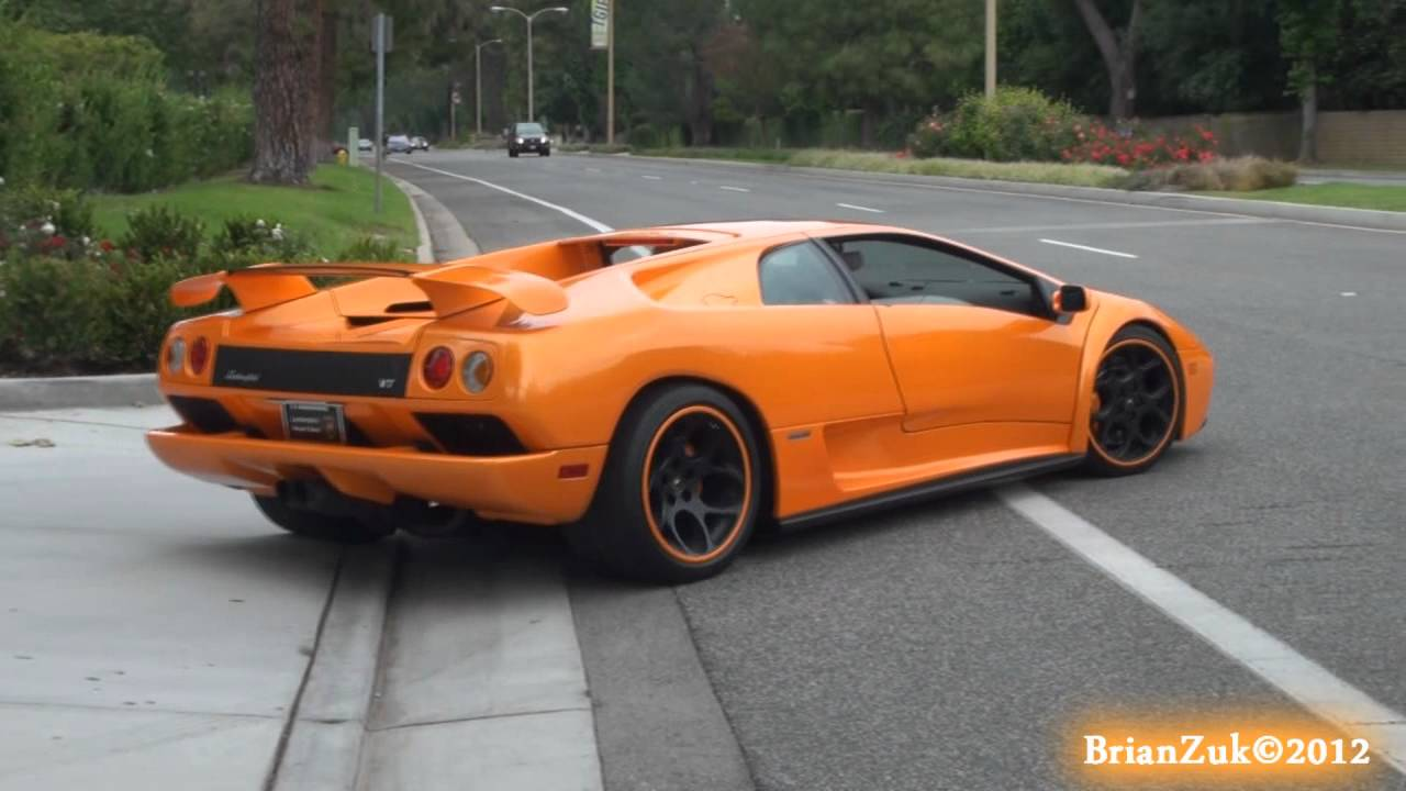 High Resolution Wallpaper | Lamborghini Diablo 1280x720 px
