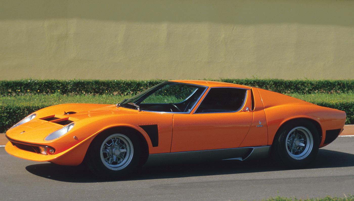 HD Quality Wallpaper | Collection: Vehicles, 1400x795 Lamborghini Miura
