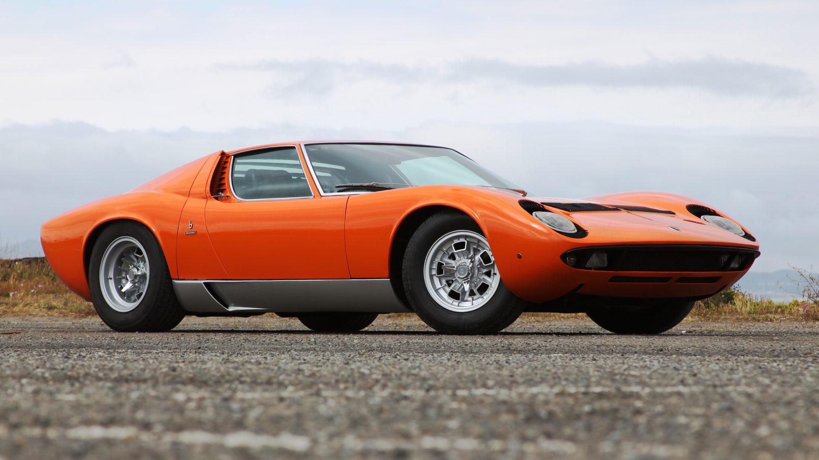 HD Quality Wallpaper | Collection: Vehicles, 1664x936 Lamborghini Miura