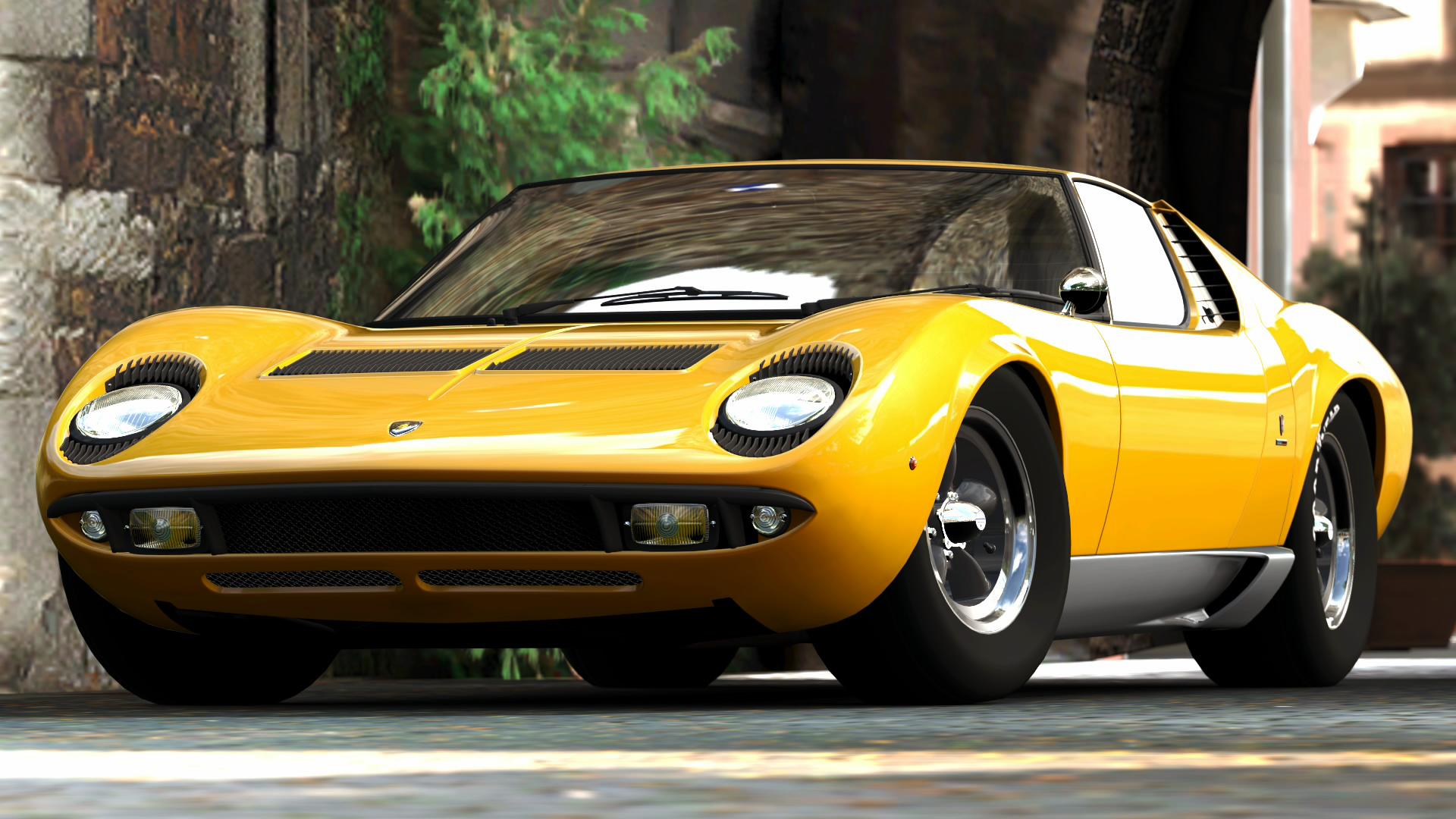 Lamborghini Miura Pics, Vehicles Collection