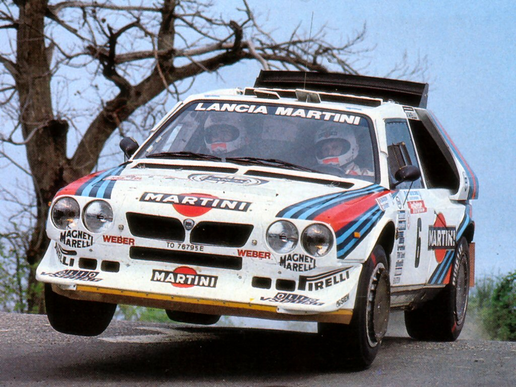 1024x768 > Lancia Delta S4 Wallpapers