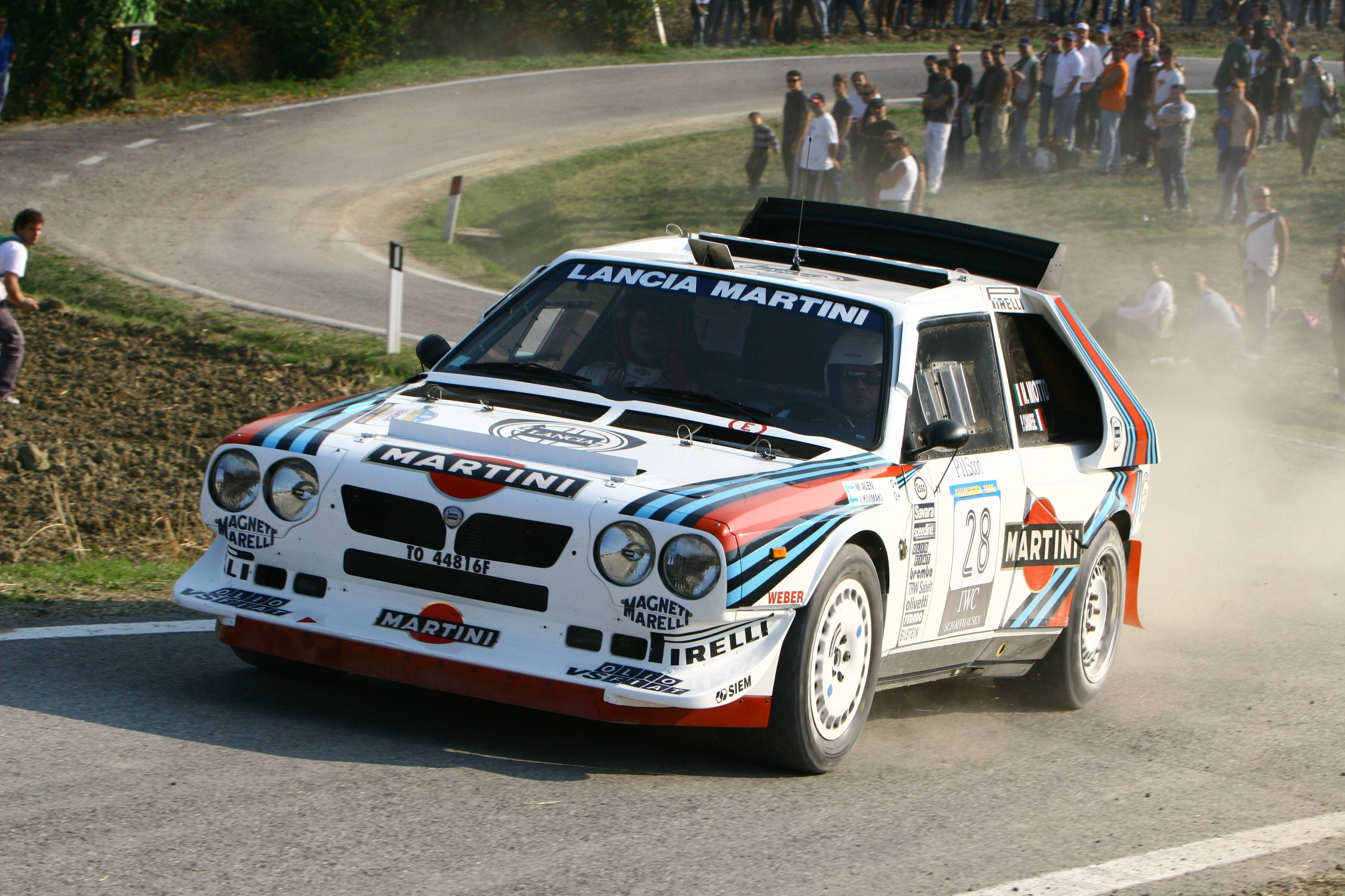 Lancia Delta S4 High Quality Background on Wallpapers Vista