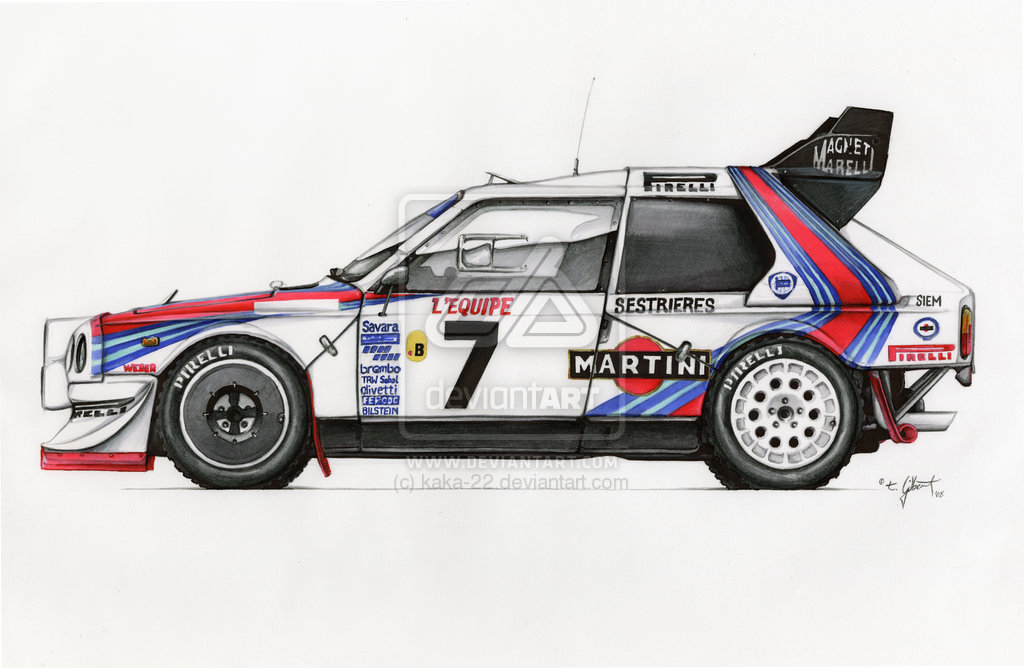 Lancia Delta S4 Backgrounds on Wallpapers Vista