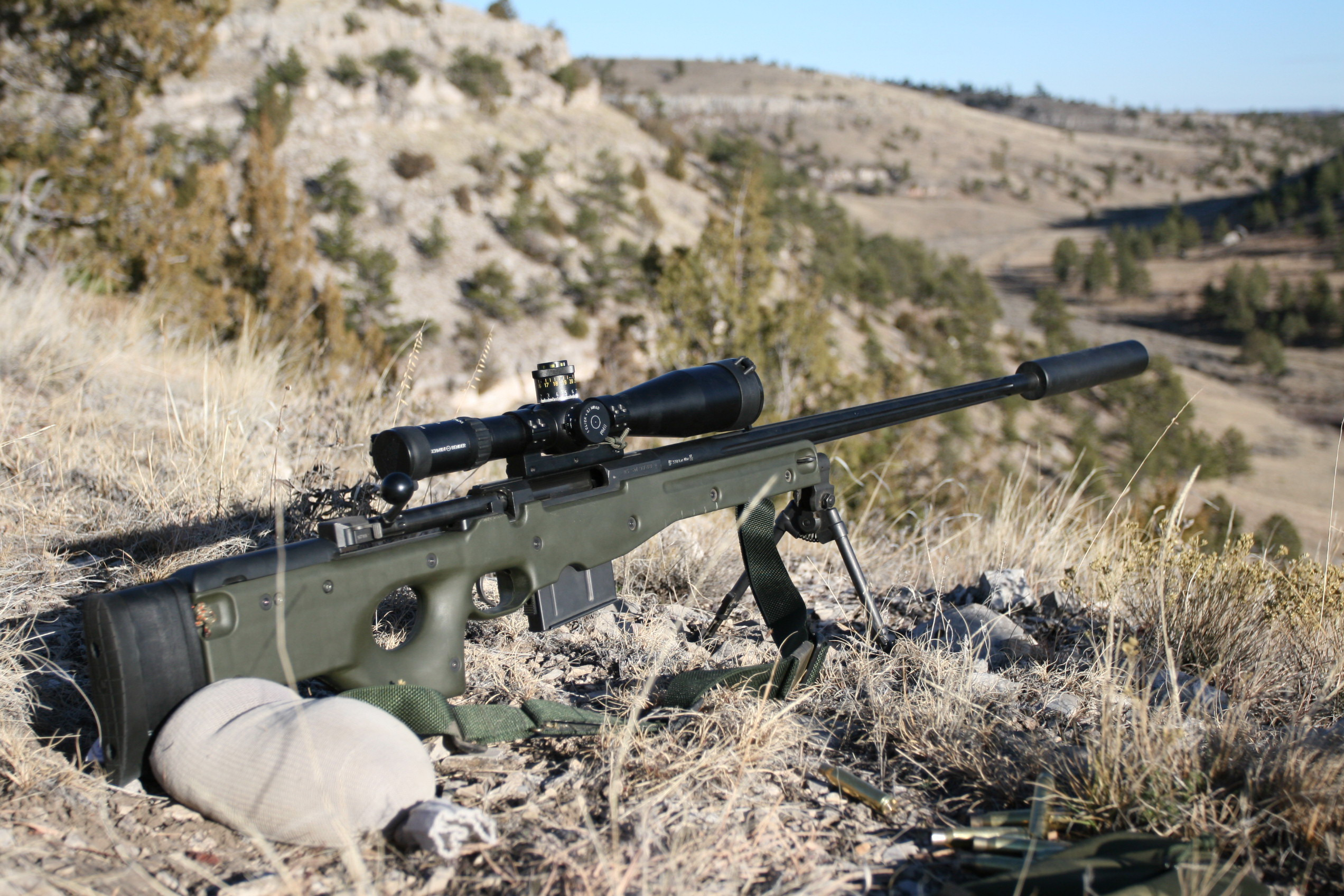 Lapua .338 Sniper Rifle High Quality Background on Wallpapers Vista