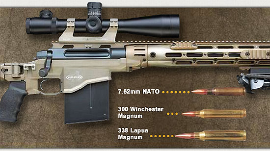 HQ Lapua .338 Sniper Rifle Wallpapers   File 49.72Kb