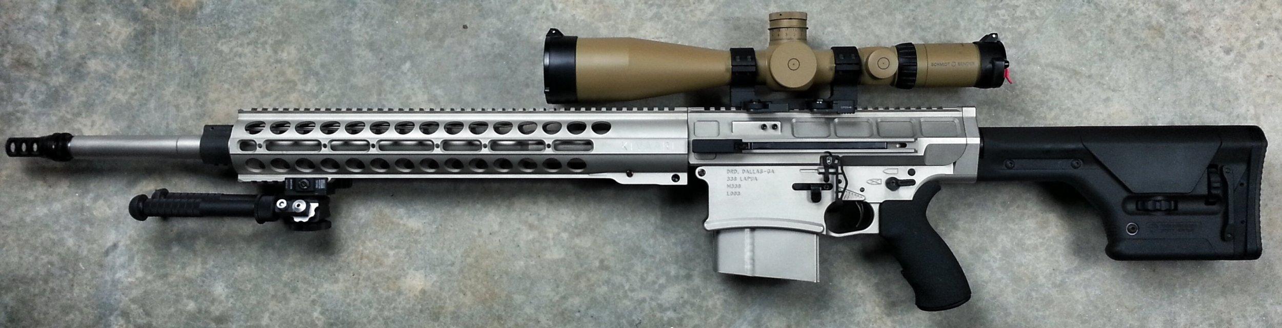 Nice wallpapers Lapua .338 Sniper Rifle 2500x640px