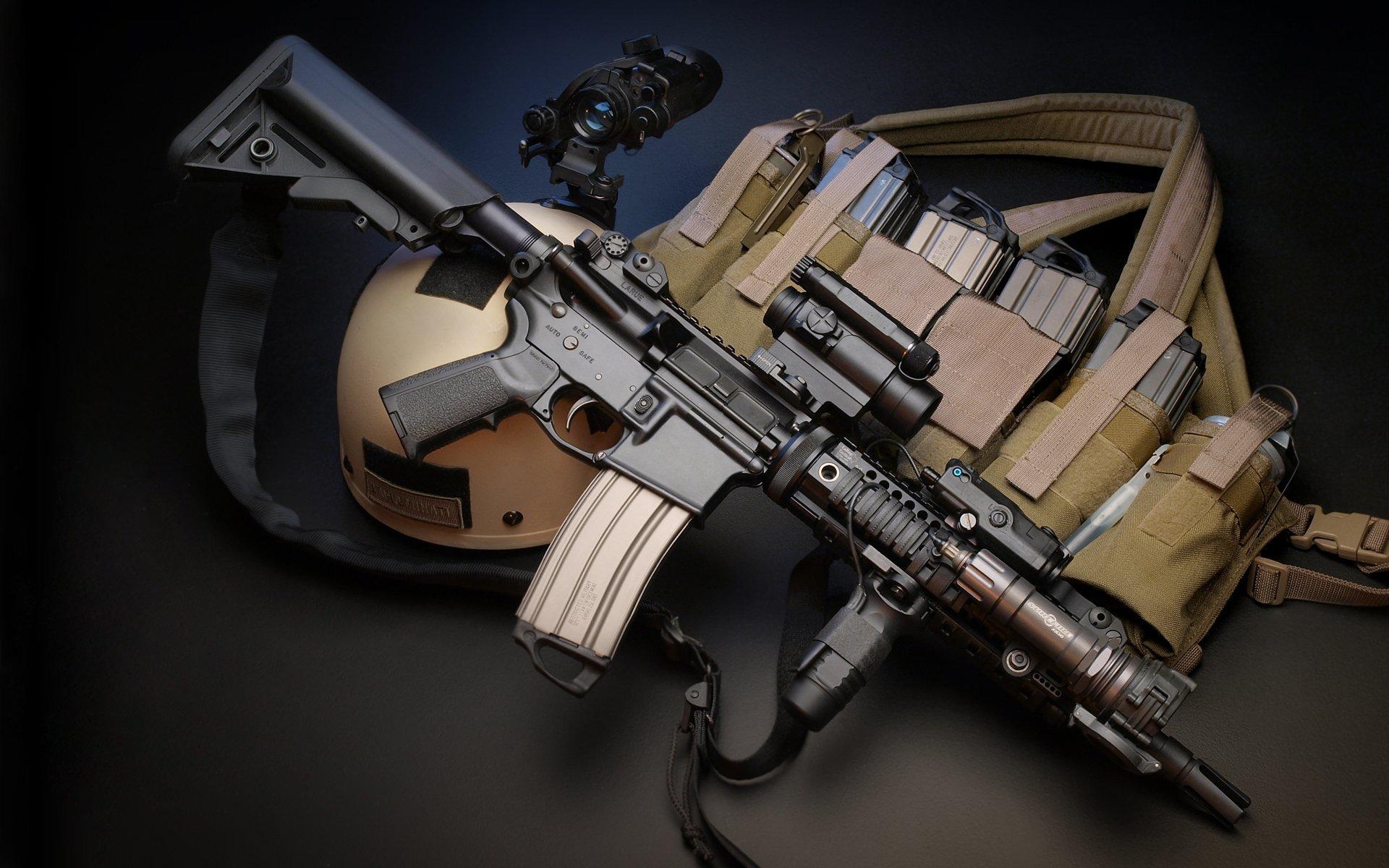 High Resolution Wallpaper   LaRue Assault Rifle 1920x1200 px