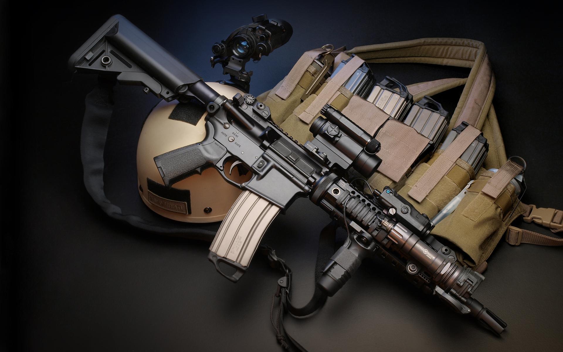 LaRue Assault Rifle Backgrounds, Compatible - PC, Mobile, Gadgets  1920x1200 px