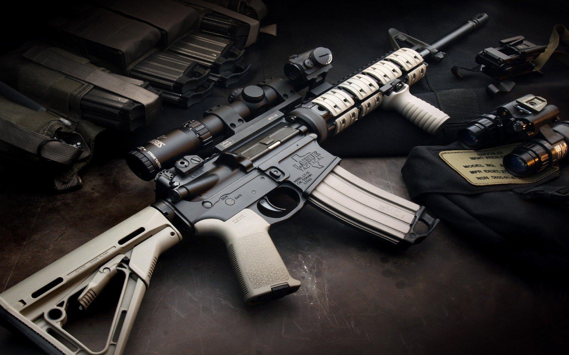 HQ LaRue Assault Rifle Wallpapers   File 361.07Kb