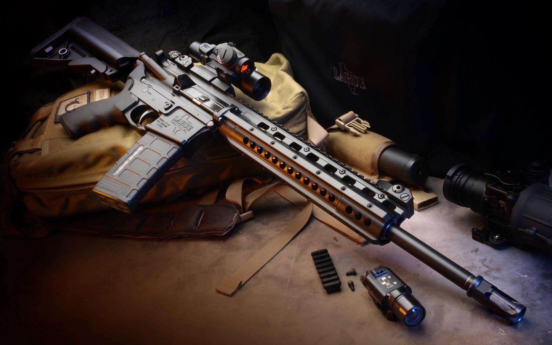 HQ LaRue Assault Rifle Wallpapers   File 239.71Kb