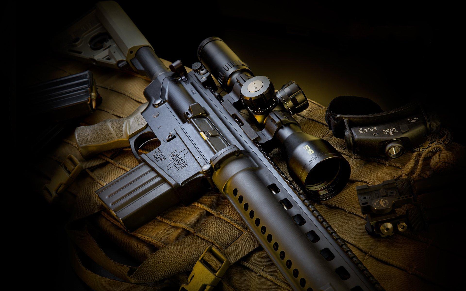LaRue Assault Rifle wallpapers, Weapons, HQ LaRue Assault ...
